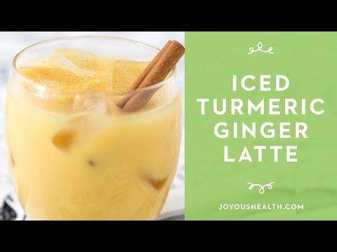 Iced Turmeric Ginger Latte