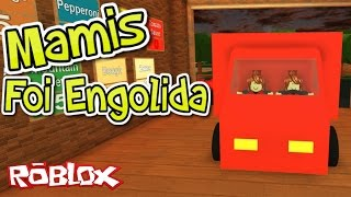 Roblox - MAMIS FOI ENGOLIDA (Work at a Pizza Place)