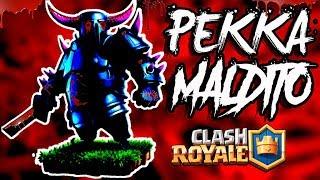 el PEKKA MALDITO de clash royale