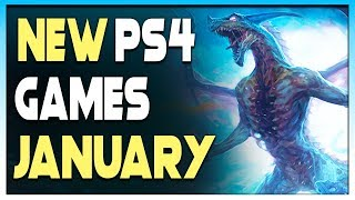 7 AWESOME NEW PS4 GAMES COMING IN JANUARY 2020 - OPEN WORLD Games, NEW JRPGs + MORE - Upcoming Games