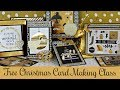 Christmas Cardmaking Tutorial