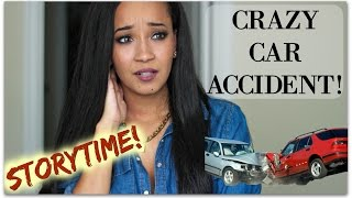 STORYTIME: CRAZY CAR ACCIDENT!! | Kym Yvonne