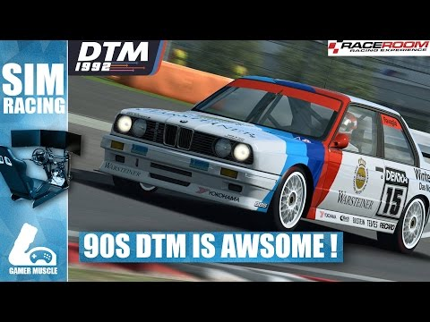 RaceRoom Racing - 90s DTM Some Of The Best Cars In The Game !
