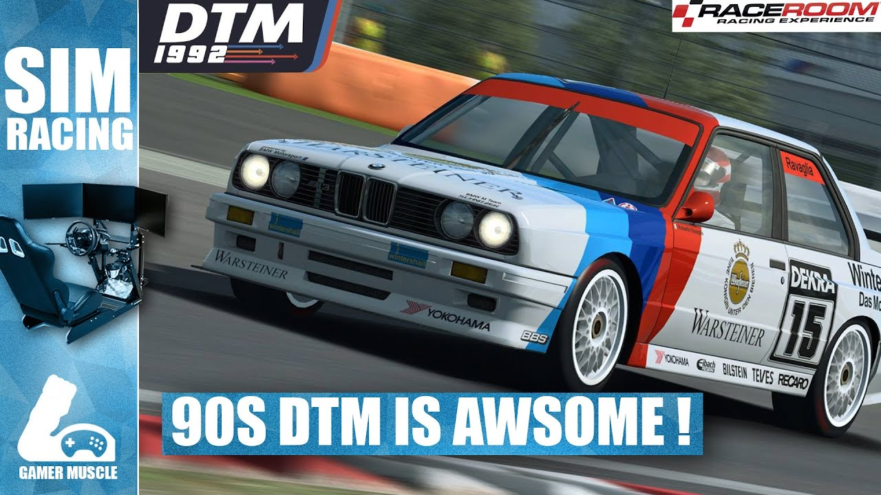 raceroom racing 90s dtm some of the best cars in the game youtube. Black Bedroom Furniture Sets. Home Design Ideas