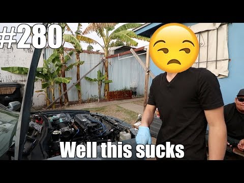 B18C5 Swap! Sometimes things don't go as planned...