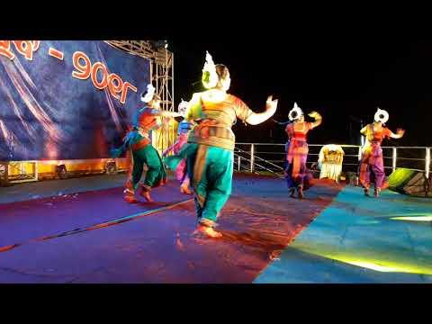 Odissi dance ghungura