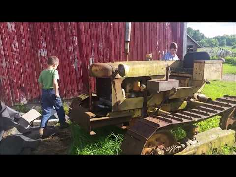 We finally found a crawler tractor- Oliver Cletrac OC4