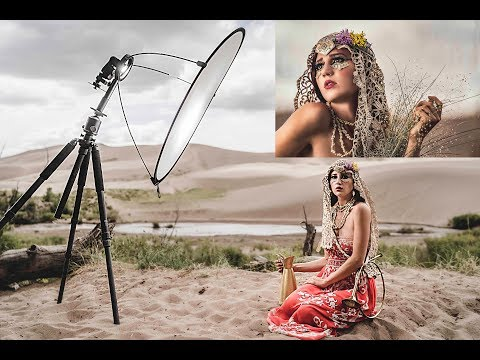 How To Use A Single Flash For Outdoor Portraits For Amazing Results W/ Westcott Lunagrip
