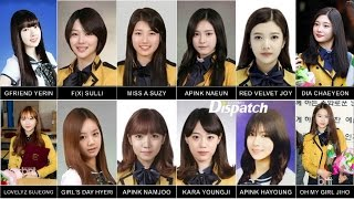 Female Idols Who Attended/Attend SOPA