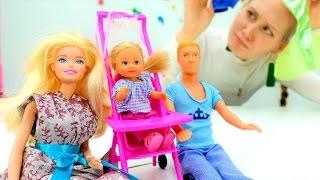 Куклы #БАРБИ и #ПУПСЫ: #Кен собирает Штеффи на прогулку. Игры для девочек  Мамы и Дочки(Новые видео для девочек про куклы Барби и Кен на детском канале «Мамы и Дочки». Куколка Барби, как всегда..., 2017-03-03T09:40:20.000Z)