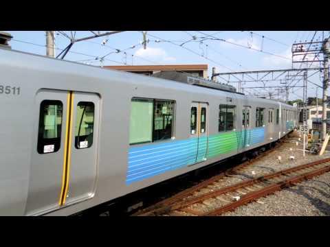 西武拝島線30000系 萩山駅到着 Seibu Haijima Line