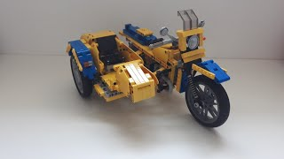 мотоцикл Урал М 67 36 из лего/Lego motorcycle Ural