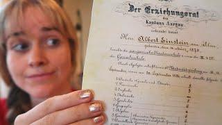 Einstein's grades