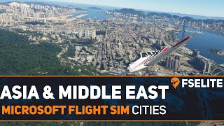 Microsoft Flight Simulator - Asian and Middle East Cities