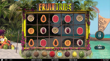 3D video slot: Fruit tribe by Gamshy