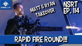 """Airsoft """"Not So Round Table"""" Ep.114 - Matt & Ryan TAKEOVER - Rapid Fire Round - Airsoft Evike.com"""