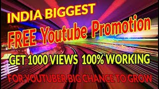 FREE Channel Promotion|How to Promote Your YouTube Video When You Have ZERO Subscribers|TECHTOFACT