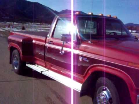 Ford Ranger Xlt >> 1981 f 350 ranger xlt dually - YouTube