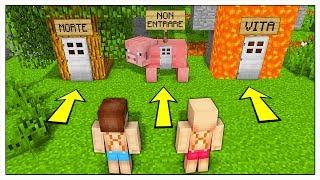 NON SCEGLIERE LA BASE SEGRETA SBAGLIATA! - Minecraft ITA
