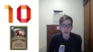 [Hearthstone] Top 10 Strongest Cards from Alpha to TGT with Kaldi