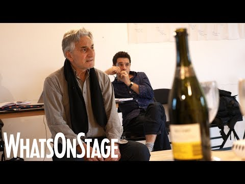 Henry Goodman, Imogen Stubbs and the cast of Honour at Park Theatre