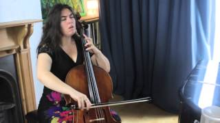 Naomi Wright plays Courante from J.S Bach's Cello Suite no 3