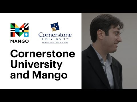 Cornerstone University and Mango Languages