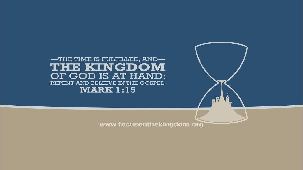 Mark 1 1 >> Restoration Fellowship