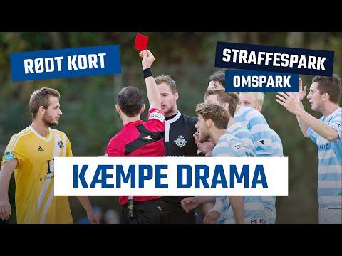 DRAMA: Rødt kort, straffespark og 3 point til Lyngby Boldklub