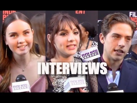 My LAFF 2018 s with Liana Liberato, Hannah Marks & Dylan Sprouse  'BANANA SPLIT'