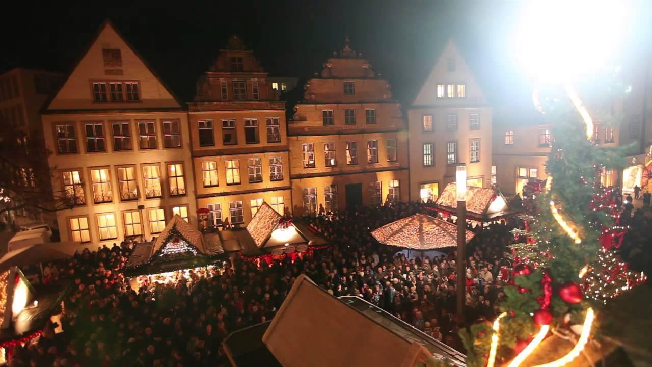 Bielefelder Weihnachtsmarkt.Die Bielefelder Eroffnen Ihren Weihnachtsmarkt