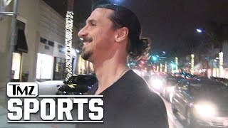Zlatan Ibrahimovic Says Ronaldo's Goal Is 'Best Ever' | TMZ Sports
