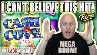 My BIGGEST Win Ever on Cash Cove! 💥Mega Jackpot!   The Big Jackpot
