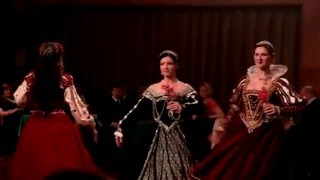 Renaissance dance show by Trn v oku DC / Dvorske renesancni tance