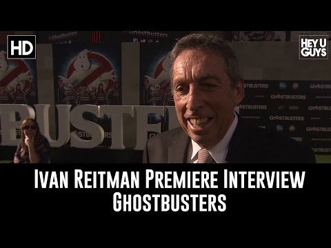 Ivan Reitman Interview - Ghostbusters World Premiere