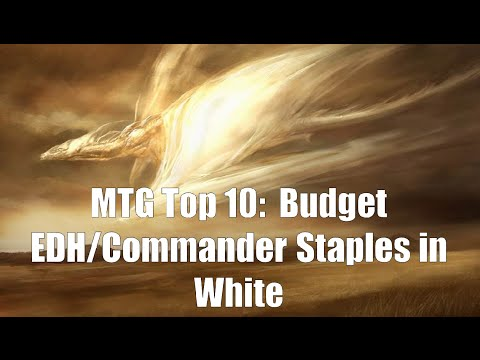 MTG Top 10:  Budget Commander/EDH Staples In White