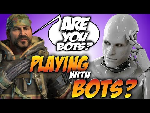 Playing With BOTS?! Black Ops 4 Rampage Gameplay!
