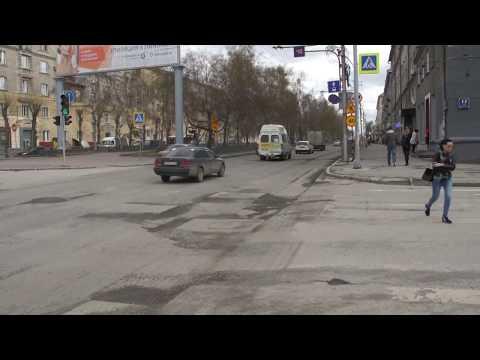 Дороги Новосибирска май 2018 г.
