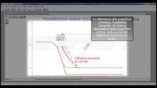 Aspen: Analisi di stabilità di un pendio rinforzato con terre armate