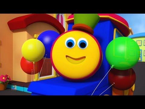 Rimas populares para crianças | Bob The Train Vídeos de desenhos animados | Vídeos para crianças
