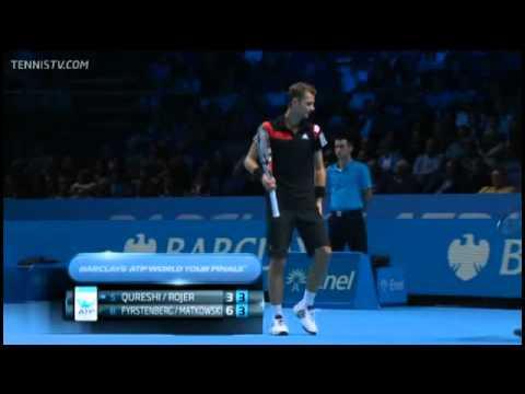 Qureshi & Rojer Vs Fyrstenberg & Matkowshi Barclays ATP World Tour Finals Round-Robin Full Match