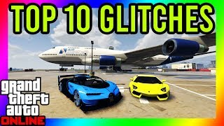 GTA 5 - TOP 10 OLD GLITCHES THAT STILL WORK!! (Teleport Anywhere, Money Glitch, God Mode and More!)