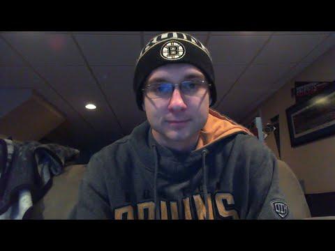 Boston Bruins Vs Toronto Maple Leafs Live Reaction + Chat