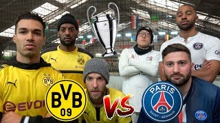 BVB vs PSG ⚽️CHALLENGE | CHAMPIONS LEAGUE