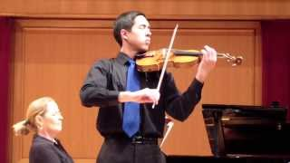 Tchaikovsky Violin Concerto in D Major, 2nd Movement - Josiah Hamill