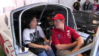 Interview Inside SOLAR SPIRIT 3 of TAFE SA Solar Spirit team at World Solar Challenge 2013