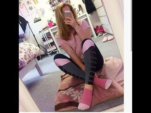 Girls In Socks Best Compilation / Девушки в носочках лучшая подборка #13