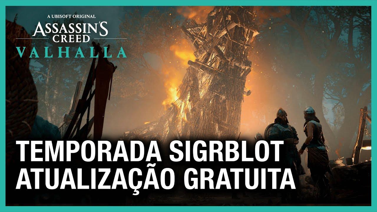Assassin's Creed Valhalla: Atualização Gratuita da Temporada de Sigrblot | Ubisoft Brasil