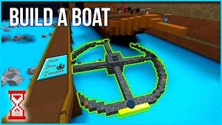 Построил Колесо обозрения в Кораблях Роблокс   Roblox Build A Boat