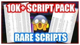 💥 10K+ RARE SCRIPT PACK | ROBLOX EXPLOITING
